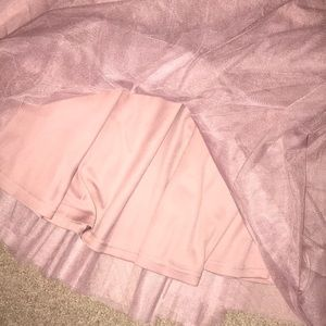 Charlotte Russe Skirts - Last Chance - Pretty in Pink Tulle Skirt sz M